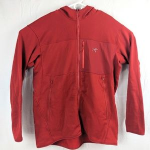 Mens Arc'teryx Full Zip Hooded Jacket Shirt sz XXL